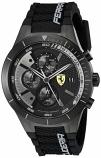 Ferrari Red Rev Evo Black Chronograph