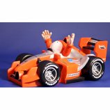 Champ Car DP01 Race Car Jim Bamber Figurine