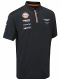 Aston Martin Racing Team Zip Polo Shirt 2015
