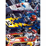 The Unser Family Nine Wins Lithograph