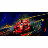 Red Kickin it with Kimi Canvas Print