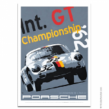 Nicolas Hunziker Porsche 356 Abarth GT Championship Poster