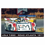 Lola T-260 Close up 1971 Poster