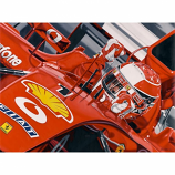 Michael Schumacher Give me 5 Lithograph