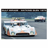 Le Mans Race Start 1970 Poster