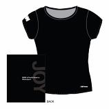 BMW M Ladies Black Joy Tee Shirt