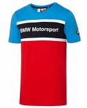 BMW Motorsport Puma Blue Logo Tee Shirt