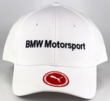 Puma BMW Motorsport White Logo Hat