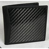 Carbon Fiber Wallet Bi-Fold Black