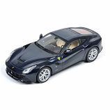 Ferrari F12 Berlinetta Blue Pozzi Hotwheels Elite 1:43rd Diecast