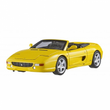Ferrari F355 Spider Yellow Hotwheels Elite 1:18th