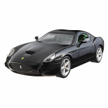 Ferrari 575 GTZ Zagato Black Hotwheels 1:18th