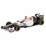Sauber F1 Kamui Kobayashi 2012 Showcar Minichamps 1:43rd
