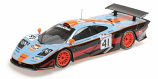 McLaren F1 GTR 1997 Gulf #41 Minichamps 1:18th