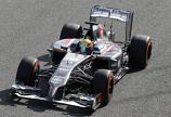 Sauber F1 Esteban Gutierrez 2014 Spark Diecast