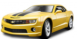 Chevrolet Camaro SS RS Yellow Maisto 1/18th Diecast Model