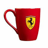 Ferrari Red Shield Coffee Mug