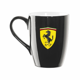 Ferrari Black Shield Coffee Mug