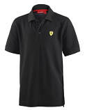 Ferrari Kids Black Polo Shirt