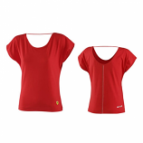 Ferrari Ladies Red Shield Logo Shirt