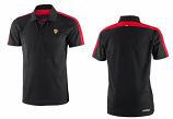 Ferrari Black Sports Polo Shirt