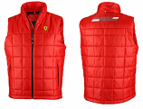 Ferrari Red Shield Padded Vest