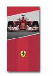 Ferrari Scuderia F1 Race Car Red Towel