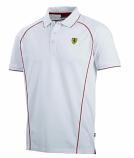 Ferrari White Track Polo Shirt