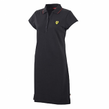 Ferrari Black Ladies Race Dress