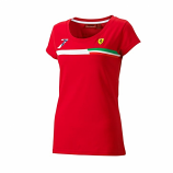 Ferrari Ladies Red Kimi Raikkonen #7 Tee Shirt