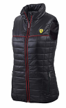 Ferrari Ladies Black Padded Vest