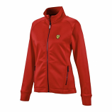 Ferrari Ladies Red Track Jacket