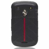 Ferrari Blackberry 9900 California Leather Black Hard Case