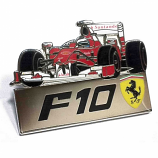 Ferrari F10 F1 Car Pin
