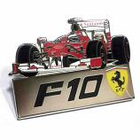 Ferrari F10 F1 Car Pin