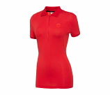 Puma Ferrari Ladies Red Shield Polo Shirt
