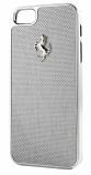 Ferrari iPhone 5 GT Carbon Fiber White Case