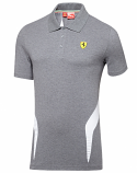 Ferrari Puma SF Gray Polo Shirt