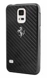 Ferrari GT Samsung Galaxy S5 Carbon Fiber Black Case