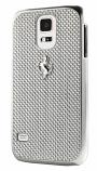 Ferrari GT Samsung Galaxy S5 Carbon Fiber White Case