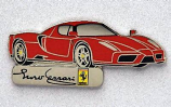 Ferrari Enzo Car Logo Pin