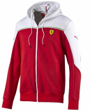 Puma Ferrari Red SF Sweat Jacket