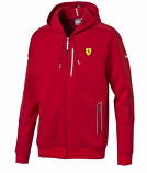 Puma Ferrari Red SF2 Sweat Jacket