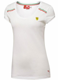 Puma Ferrari Ladies SF White Top