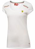 Puma Ferrari Ladies SF White Top