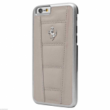 Ferrari 458 Grey Leather Galaxy S6 Case