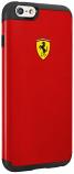 Ferrari iPhone 6/6S Plus Shockproof Red Case