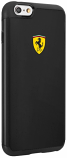 Ferrari iPhone 6/6S Shockproof Black Hard Case