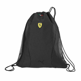 Puma Ferrari Black Replica Team Drawstring Bag