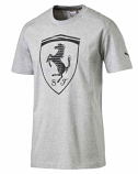 Puma Ferrari Grey Big Shield Tee